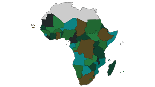 map of sub-saharan africa.